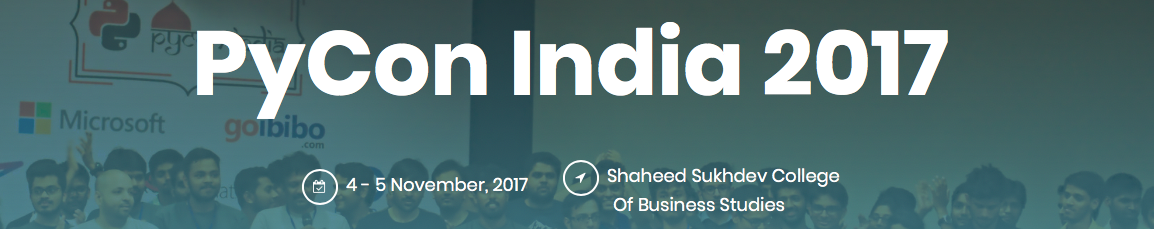 My Talk at PyCon India 2017